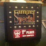Our camp was named best campsite at Wasteland Weekend 2012!